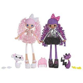 Lalaloopsy Girls Dolls 2-pack - Cloud E. Sky and Storm E. Sky