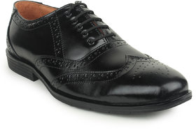 Kennady Men's Black Lace-up Casual Shoes