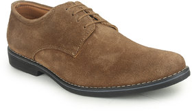 Kennady Men's Beige Lace-up Casual Shoes