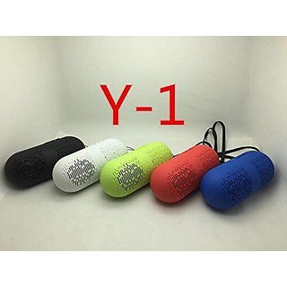 Music OGM Y1 Super Bass Sound Effect Portable Multi Function Mini Speaker(Assorted Colour)