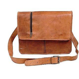 Satya Casual And Elegant Messenger Bag Brown 9inchx11inch