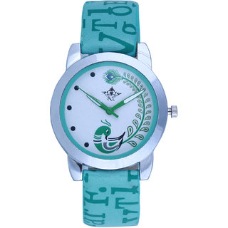 Fancy Designer Peacock SCK Analog  Wrist Watch For Women Girls
