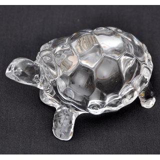 Feng Shui Wish Crystal Glass Tortoise.