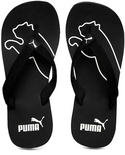 Puma Men's Black White Colaba Flip Flops