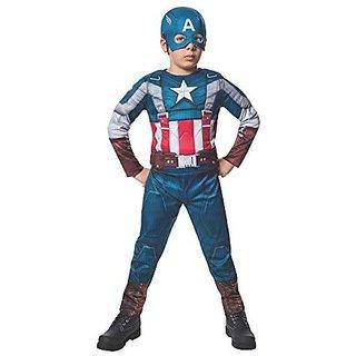 Rubies Marvel Comics Collection: Captain America: The Winter Soldier Fiber-Filled Retro Suit Captain