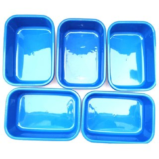 Plastic Tub(Pack of 5)
