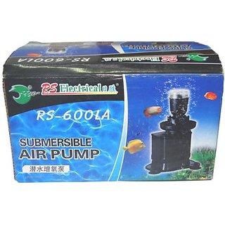 Aquarium Underwater Submersible Air Pump with LED light - RS-600LA  COLOURFUL AQUARIUM