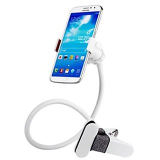 Universal Flexible Long Arms Mobile Phone Holder Desktop Bed Lazy Bracket Mobile Stand - White