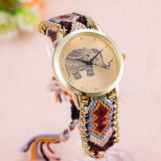 Elephant Design Watch