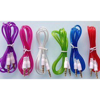 love4ride 3 Pcs Aux Cable Combo Assorted