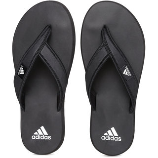 Adidas Men's Rio Black Slippers  Flip Flops