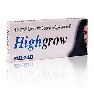Highgrow 30 Tablets for Hair Growth Hair Fall Prevention