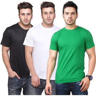 Ketex Men's Multicolor Round Neck T-shirt