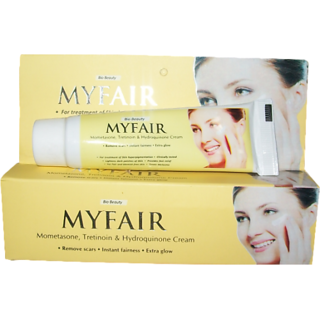 Myfair Cream (Pack Of 4) 20 gm Each