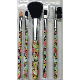 Edee 5 Pcs Make Up Brush Set (Pack Of 5)