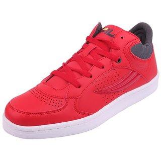 Fila Sneakers Red Casual Shoes UU-ZDO6-EEV08