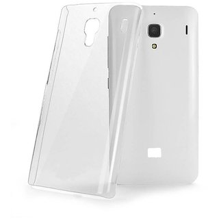 Transparent back cover totu for HTC D526