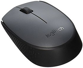 Logitech M170 Wireless Optical Mouse (Black)