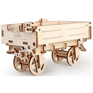 Ugears Tractor's Trailer 3D Mechanical Puzzle