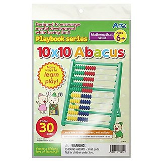 10x10 Abacus Math Kit 6+ Playbook By Artec