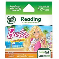 LeapFrog Barbie Learning Game Malibu, Multi Color