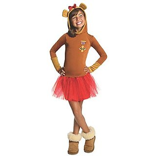 Rubies Wizard of Oz Cowardly Lion Hoodie Dress Costume, Child Large