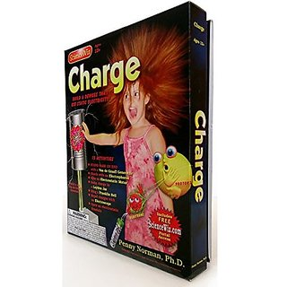 Science Wiz Charge Experiment Kit & Book By Sciencewiz