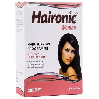 West Coast  Haironic Woman HAIR  WITH BIOTIN, SELENIUM