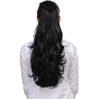 D-DIVINE Natural Brown Hair Extension With Clutcher