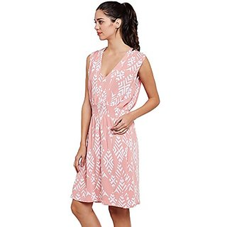 Tessellate Formal Sleeve Less Printed Womens Blossom NIGHT DRESS