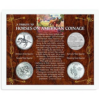 American Coin Treasures Kids A Tribute To Horses On American Coin Set
