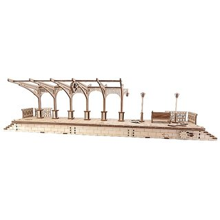Railway Platform - Ugears 3D Mechanical Puzzle