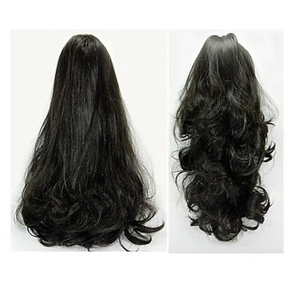 D DIVINE Get Instant Party look with Natural Black Hair Extensions