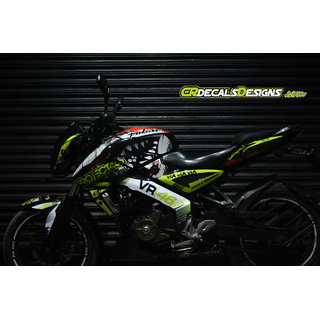 Buy Pulsar Ns 200 160 Full Body Wrap Custom Decals Vr 46