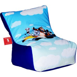 Comfy Bean Bags - Bean Chair Bean Bag - Printed - Size Kids Bean Bag - Filled With Beans Filler ( Cartoon )