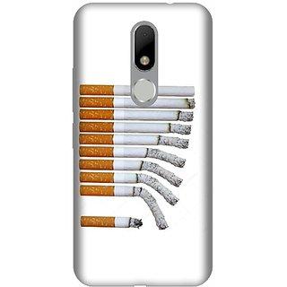 Akogare 3D Back Cover For Motorola Moto M BAEMOM1541