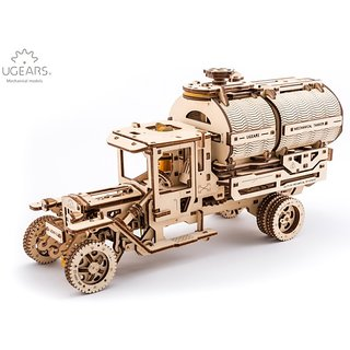 Ugears Tanker 3D Mechanical Puzzle