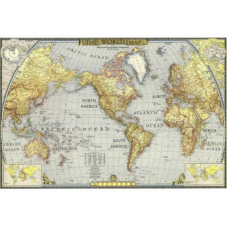 Buy myimage world map poster canvas cloth print 31 cm x 46 cm myimage world map poster canvas cloth print 31 cm x 46 cm gumiabroncs Images