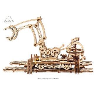 Ugears Rail Mounted Manipulator 3D Mechanical Puzzle