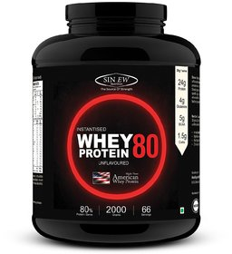 Sinew Nutrition Raw Whey Protein Concentrate 79% Whey Protein (2 kg, Unflavored)