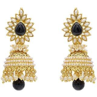 Jewels Gehna Alloy Party Wear  Wedding Latest Jhumki Earring Set For Women  Girls