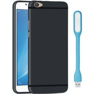 Vivo Y55L Sleek Design Back Cover with USB LED Light
