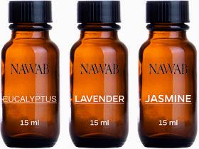 NAWAB essential aroma Diffuser oil(Lavender,Jasmine,Eucalyptus-15ml each)