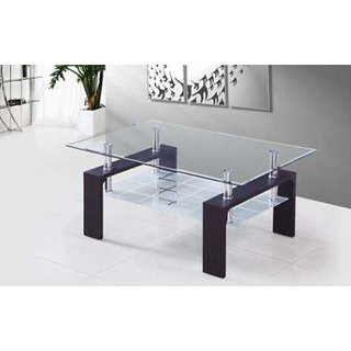 Superbe KOSMO CENTRE TABLE CT 09 (LCT012) WITH GLASS TOP