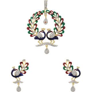 Silveria Designer Traditional Women Pendants  Sets