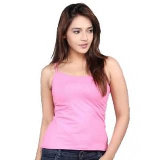 9ba6e75e6a Fz fashion pink cotton inner camisole available at ShopClues for Rs.79