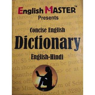 English Master Concise English Dictionary English - Hindi