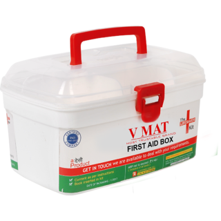 First Aid bBox With Medicine Kits