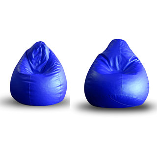 Home Story Classic Bean Bag XL Size Royal Blue Cover Only Set of 2
