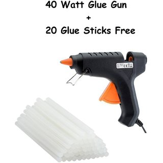 Stark 40 Watt Glue Gun With 20 Glue Sticks Free